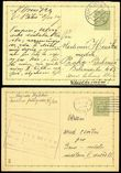 76146 / 883 - Philately / Protectorate Bohemia-Moravia / Postal Stationery B. and M. / Forerunners