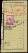 76643 / 0 - Philately / Other Philatelic Domains / Frank-Cancelled / Bohemia and Moravia