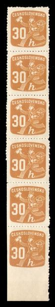 92065 / 0 - Philately / Czechoslovakia 1945-1992 / Newspaper, Delivery