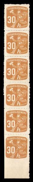 92065 / 0 - Filatelie / ČSR II. / Novinové a doruční