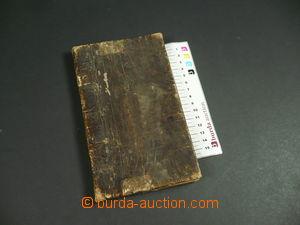 100476 - 1827 LEGITIMACE  vandrovní knížka, částečně vyplněná, s kolk