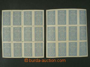 100813 - 1934 APEX, International exhibition of air-mail, London, 2x
