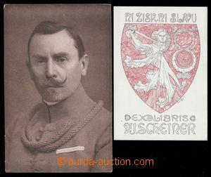 100867 - 1919? MUCHA Alfons (1860–1939): ex libris Ni zisk, ni slávu,