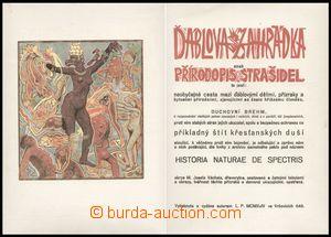 101165 - 1924 BIBLIOFILIE  Josef VÁCHAL: Ďáblova zahrádka aneb přírod