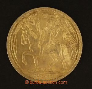 102546 - 1929 ČSR I.  stříbrná pamětní medaile Svatý Václav, 929 - 19