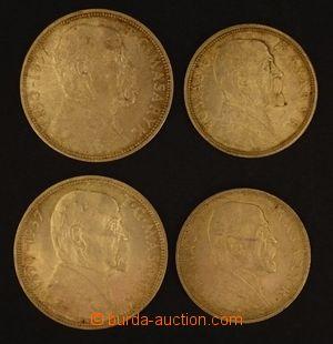 102586 - 1928-37 ČSR I. / MASARYK  sestava 2ks stříbrných pamětních m