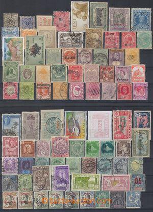 103135 - 1890-1960 WW  sestava známkových zemí, obsahuje mj. země jak