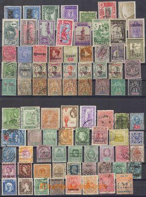 103137 - 1890-1950 WW  sestava známkových zemí, obsahuje mj. země jak