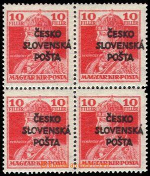 103519 -  Pof.RV146, Žilinské vydání (Šrobárův přetisk), Karel 10f, v