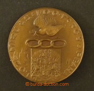 104148 - 1937 ČSR I.  Beutler: medaile k 15. výročí Zednářské lóže mí
