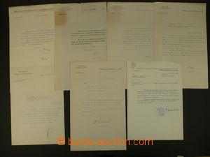 105260 - 1919-50 HABRMAN, ŠROBÁR, BECHYNĚ, DERÉR, KRČMÁŘ, FRANKE, WIR