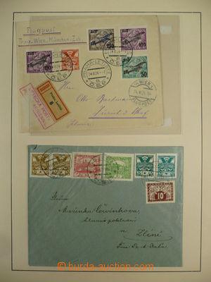 105594 - 1918-39 ČSR I.  sbírka na starých albových listech, obsahuje