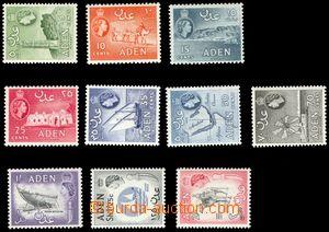 106177 - 1964 Mi.78-87, Alžběta II., kat. 44€