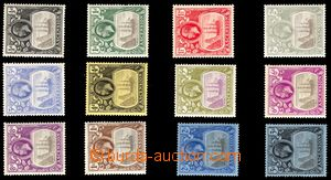 106179 - 1924 Mi.10-21, Plachetnice, kat. 420€