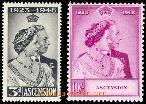 106180 - 1948 Mi.55-56, Stříbrná svatba, kat. 60€