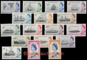 106259 - 1965 Mi.71-87, Alžběta II., kat. 90€