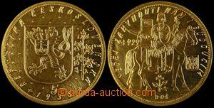 106328 - 1935 ČSR I.  Pětidukát, Au, náklad 1037 ks, hmotnost 17,455g