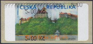 106463 - 2000 Pof.AT1, Veveří, varianta Ia, hodnota 5.00Kč bez *, čer