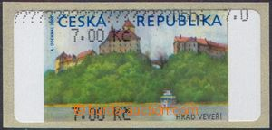 106464 - 2000 Pof.AT1, Veveří, varianta Ia, hodnota 7.00Kč bez *, čer