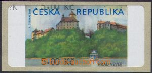 106466 - 2000 Pof.AT1, Veveří, varianta Ia, hodnota 5.00Kč bez *, čer