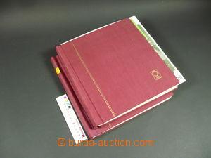 108358 -  ALBOVÉ LISTY  Schaubek, Rakousko 1850–1967, ve 2 pérových d