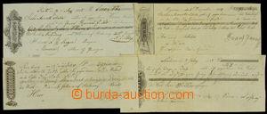 108731 - 1825-42 SMĚNKY/ RAKOUSKO - UHERSKO  sestava 4ks vypsaných př