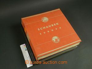 109005 -  ALBOVÉ LISTY Schaubek, Evropa, vydání 1937, I. díl - origin