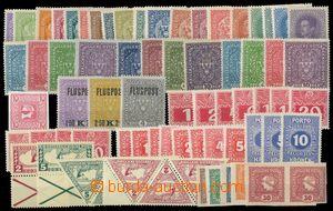 109931 - 1918 kompletní sestava rakouských zn. z let 1908-1918 platný
