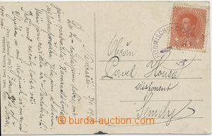 110057 - 1919 VLP LEITOMISCHL–CHOTZEN/ 3.1.19, předběžné razítko na p