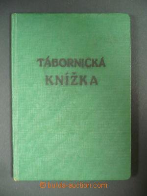 110291 - 1940 SKAUTING  legitimace Tábornická knížka (náhrada za zruš