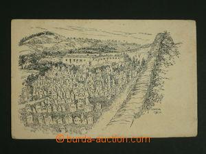 110316 - 1931 MIKULOV (Nikolsburg, okr. Břeclav) - židovský hřbitov,