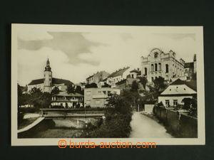 110318 - 1950 HRANICE (okr. Přerov) - synagoga, vydal ORBIS; nepoužit