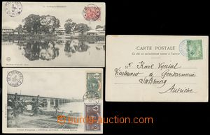 110793 - 1905-07 FRENCH COLONIES / MADAGASCAR, SENEGAL a k tomu FRENC