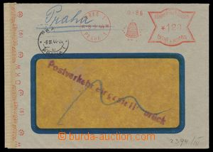 111629 - 1944 TRANSPORT ZASTAVENA  commercial window envelope paid fr