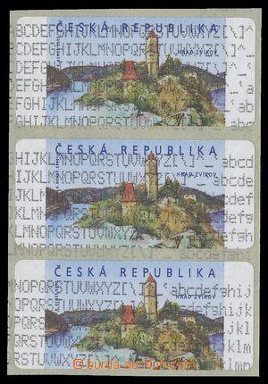 111649 - 2002 Pof.AT2, Zvíkov, 3-páska, VV - tisk zaváděcího programu