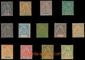 111953 - 1892 Mi.1-13, Alegorie, kat. 260€