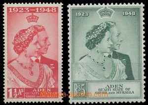 112322 - 1949 Mi.14-15, Stříbrná svatba, kat. 22€