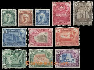 112728 - 1942 Mi.1-11, Krajinky, kat. SG £50