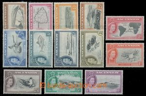 112740 - 1956 Mi.62-74, Alžběta II, kat. 210€