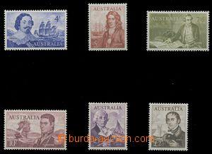 112741 - 1963 Mi.331-336, Mořeplavci, kompletní série, kat. 220€