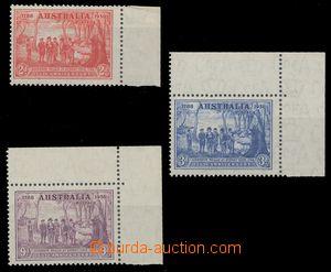 112742 - 1937 Mi.153-155, 150. výročí založení Nového Jižního Walesu,