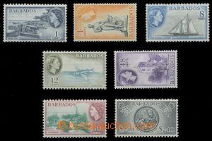 112751 - 1964 Mi.225-232, Alžběta II, kat. SG £17