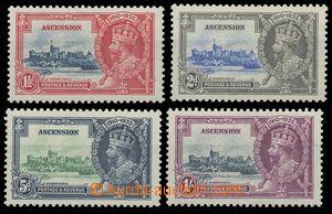 113169 - 1935 Mi.32-35, Jiří V. - korunovace, kompletní série, kat. 8