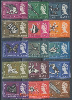 113368 - 1965 Mi.113-127, Alžběta II.