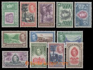 113519 - 1938 Mi.112-123, Jiří VI., kat. SG £140, dolarové hodno