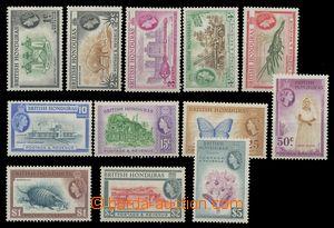 113520 - 1953 Mi.141-152A, Místní motivy, kat. SG £75, koncová h