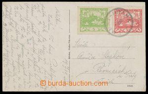 113770 - 1919 VLP CMUNT–PRAHA/ 560, pohlednice vyfr. zn. Hradčany 5h