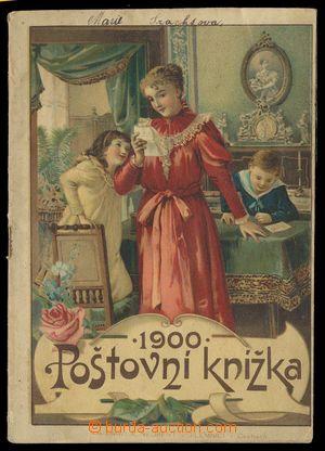 114488 - 1900 Poštovní knížka rakouské pošty z roku 1900, dekorativní