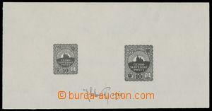115826 - 1918 soutisk, 2x návrh 10Kč, různé formáty, s podpisem autor