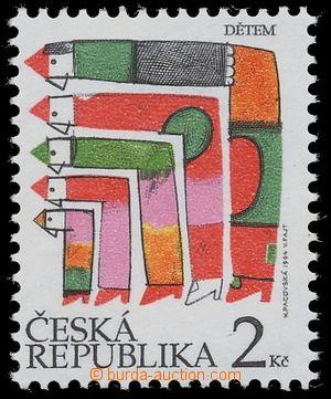 116320 - 1994 Pof.41a, Mezinárodní den dětí, DV 13/2 - zářez na zádec